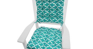 Barnett Home Decor Garden Indoor/Outdoor Rocking Chair Cushion