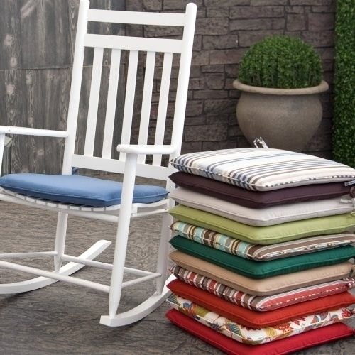 Cozy Outdoor Rocking Chair Cushions Gallery | Outdoor Cushion Cover