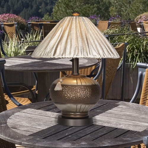 Décor your house with decorative outdoor   table lamps for porches