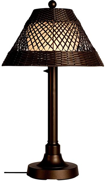 Patio Living Concepts 15217 Java Outdoor Table Lamp - Indoor or