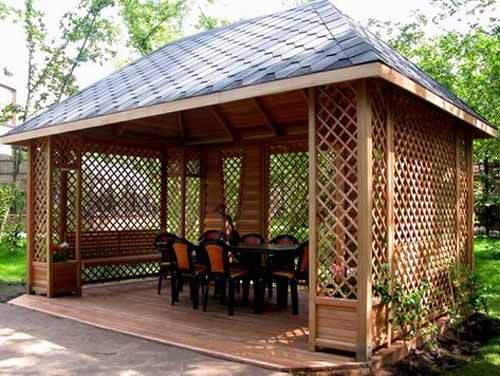 22 Beautiful Metal Gazebo and Wooden Gazebo Designs | RETREATS