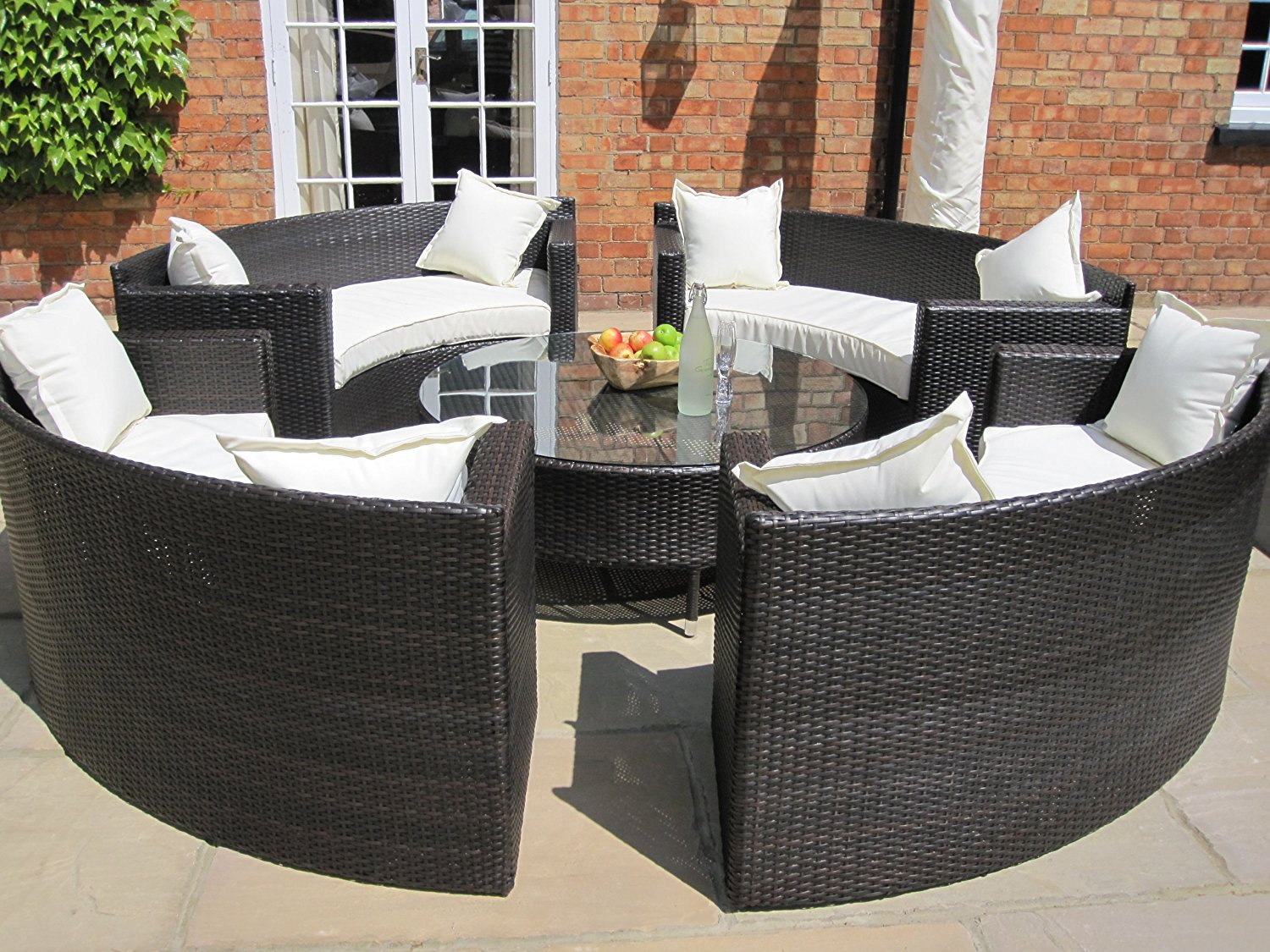 Rattan Circular Patio Furniture