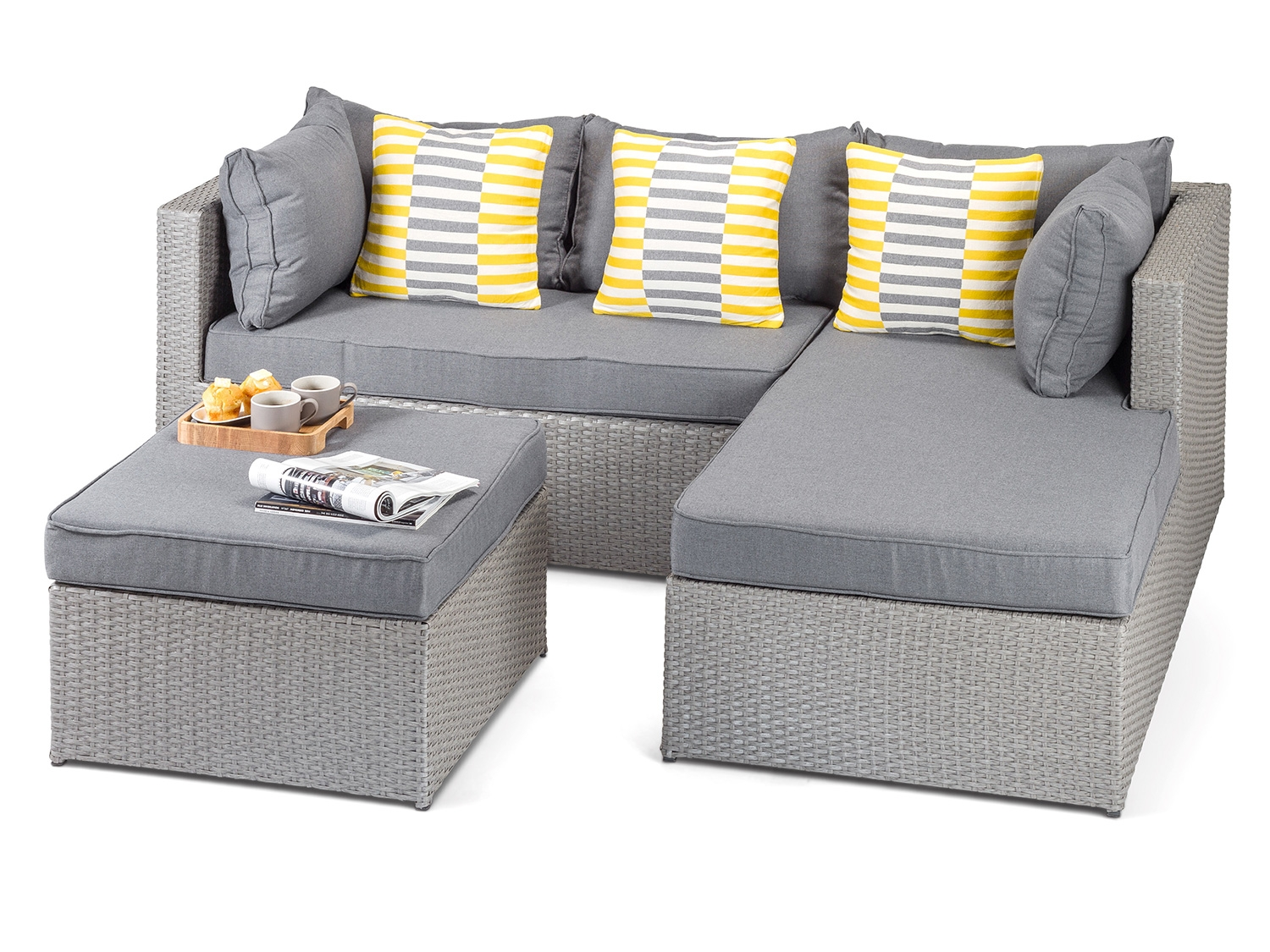 Fashionable grey rattan garden furniture furniture range - calabria grey outdoor  rattan furniture contemporary sofa set