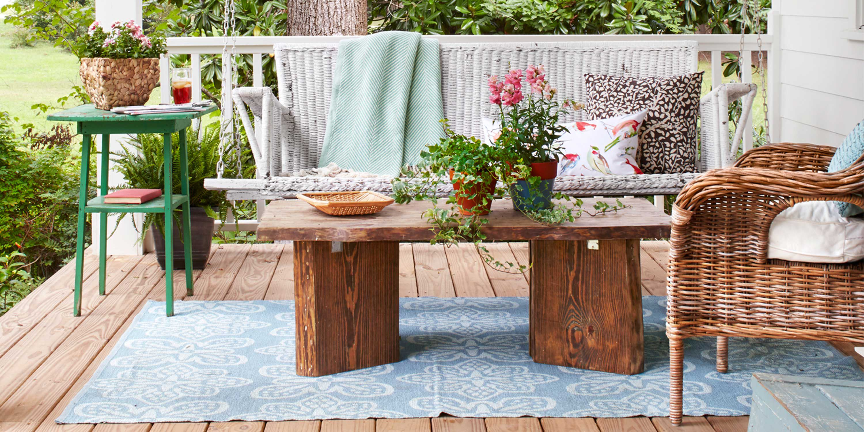 60+ Best Patio Designs for 2019 - Ideas for Front Porch and Patio Decorating