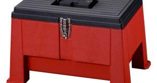 Stack-On Step Stool Storage