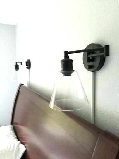 plug in wall lamp with cord cover best plug in wall sconce ideas on with  cover
