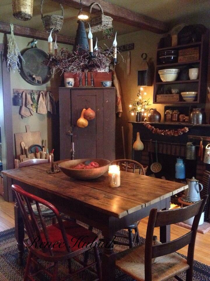 130+ Best Ideas Primitive Country Kitchen Decor | Primitive, Country  Kitchen Decor | Primitive kitchen, Country kitchen, Kitchen decor
