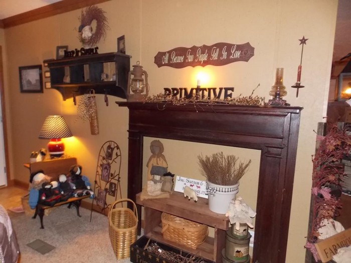 country decor in a manufactured home 13