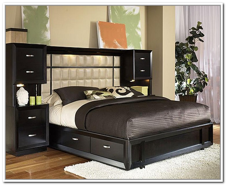 Queen Size Headboard With Storage Throughout Diy Base Bed Frame The Frames  And Headboards Remodel 17
