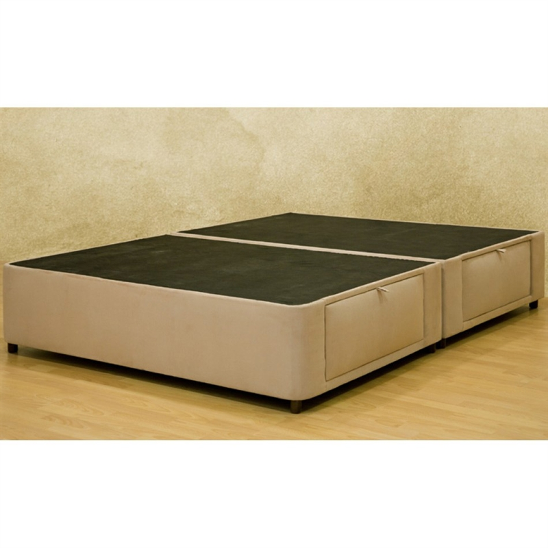 Home design – queen platform bed with storage drawers