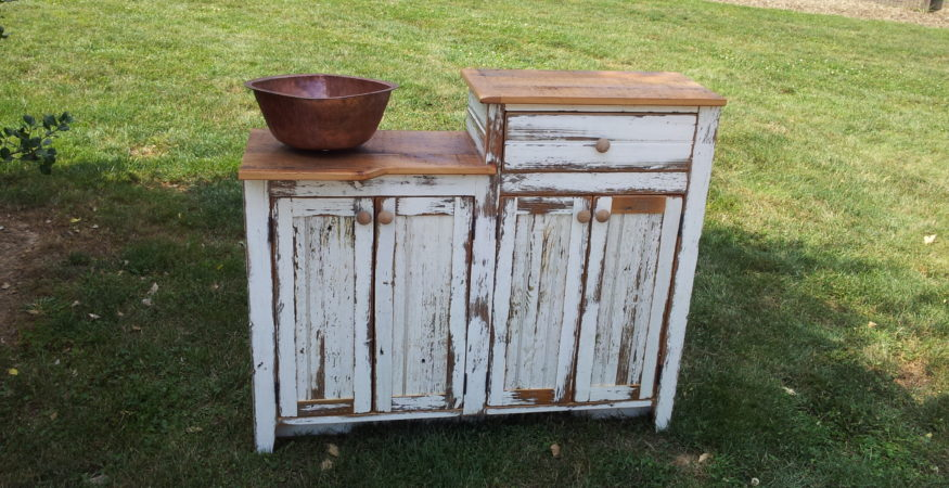 Reclaimed Barnwood Farm table & Farmhouse Furniture | Old Barn Star