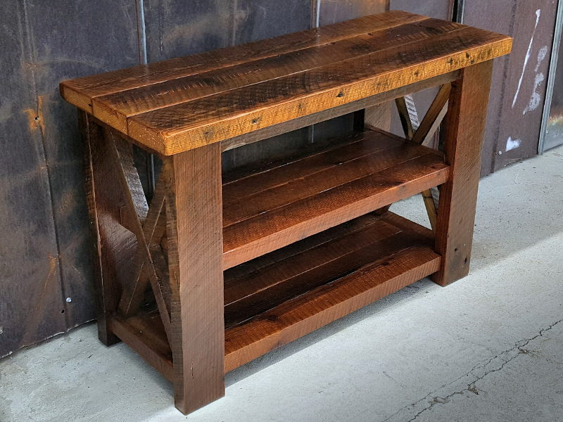Wood Furniture Awesome Ideas Custom Reclaimed Wood Furniture Decor In Pell  City Al With Design