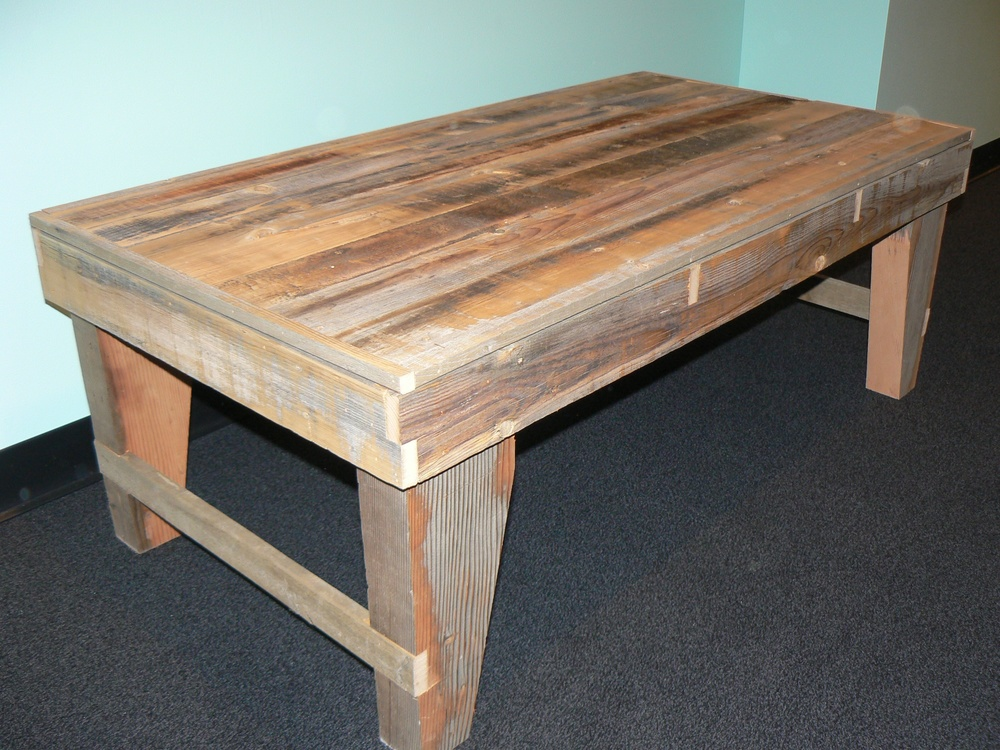 Custom Reclaimed Wood Furniture