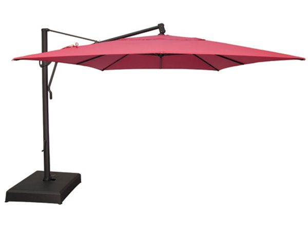 10' x 13' Rectangular Cantilever Umbrella AKZRT