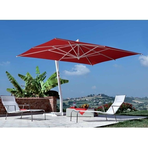 FIM P-series 10 x 13 Crank Lift Cantilever Patio Umbrella