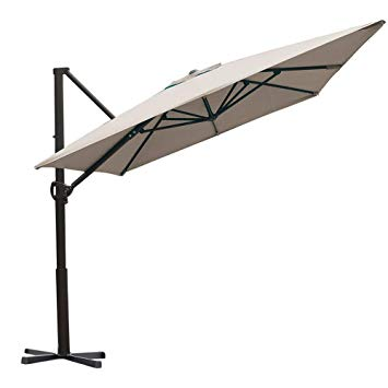 Amazon.com : Abba Patio Rectangular Offset Cantilever Umbrella