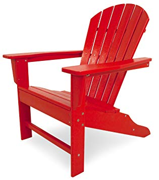 Amazon.com : POLYWOOD Outdoor Furniture South Beach Adirondack Chair