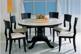 Best Round 6 Seat Dining Table Round Kitchen Table With 6 Chairs Fino Round  Dining Table Set Marble Dining Table True Contemporary