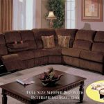 Sectional sofa with pull out bed and   recliner : choose the right one