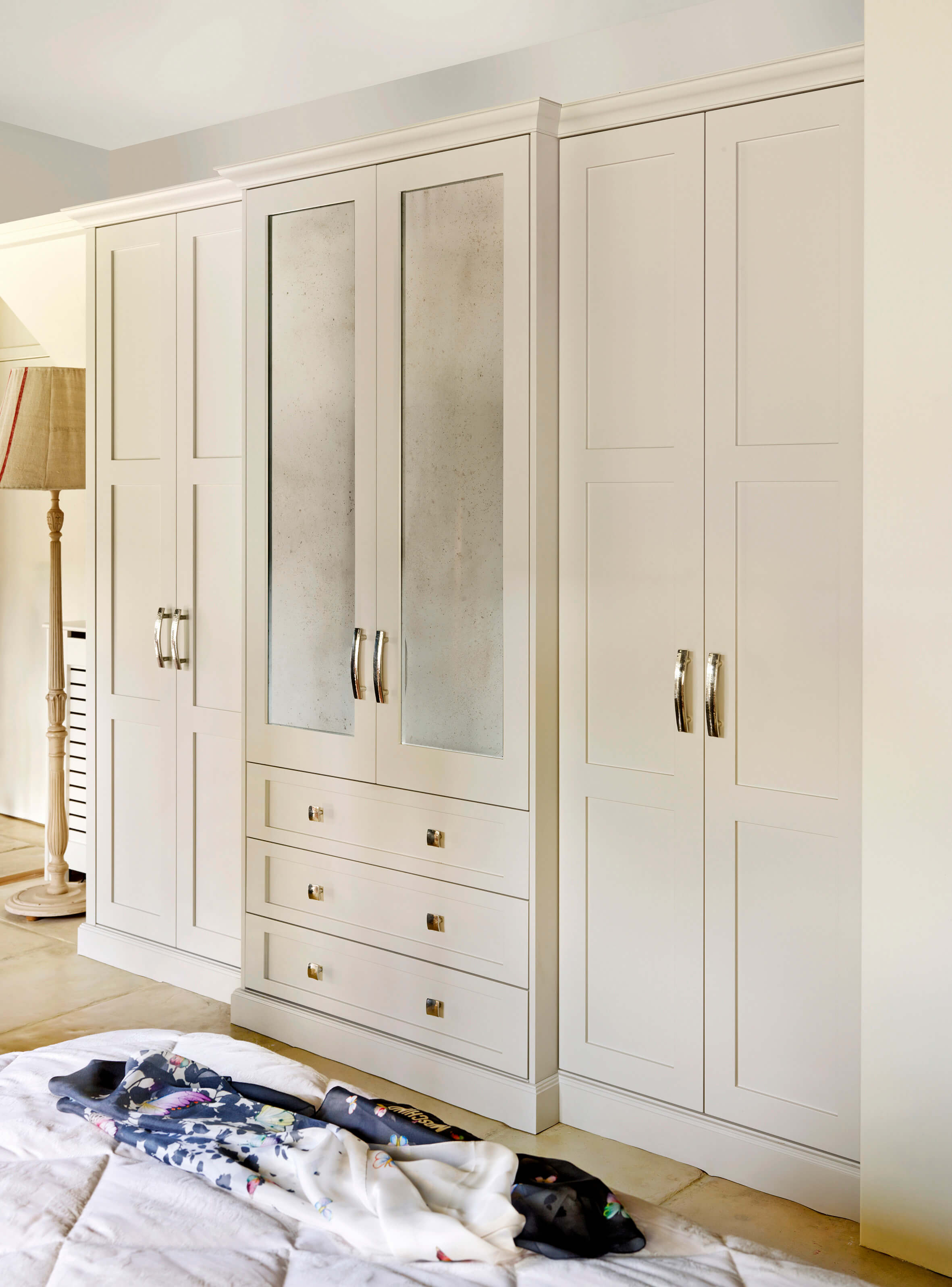 Shaker Style Fitted Wardrobes by. John Lewis of Hungerford