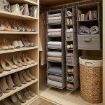 Benefits of having a shoe rack closet   organizer