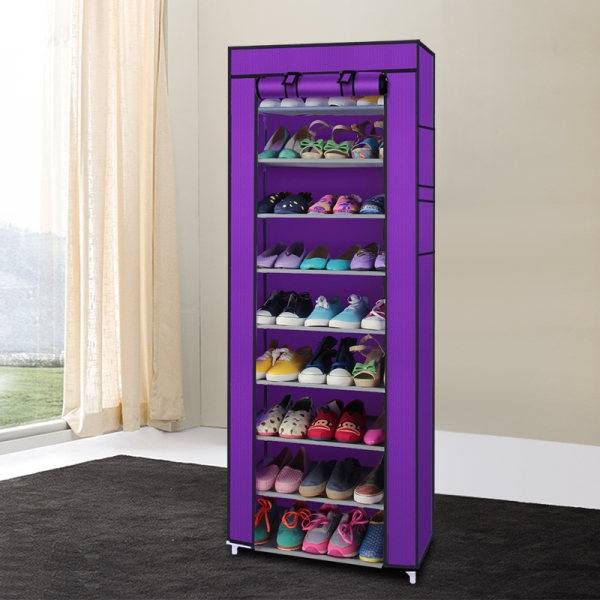 Portable-10-Layer-9-Grid-Shoe-Rack-Shelf-