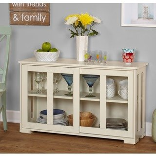 Buy Glass Doors Buffets, Sideboards & China Cabinets Online at