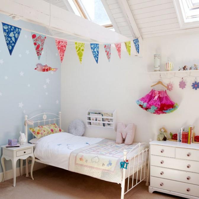 Kids Rooms, Fun Coastal Childrens Room Ikea Decorating Kids Rooms Ideas:  Cool Kids Room