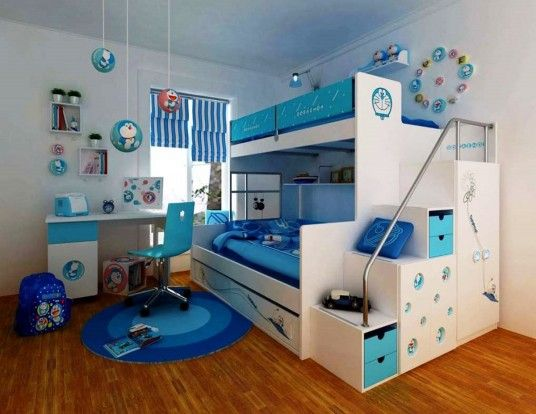 Simple Kids Room Design