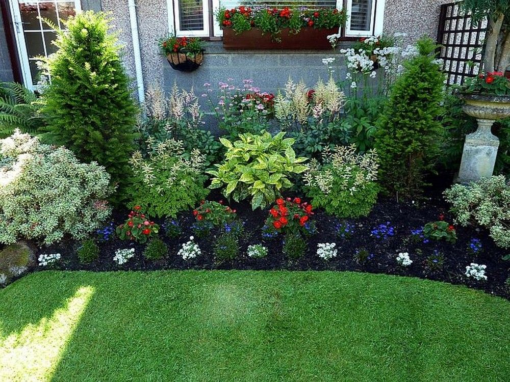 Some garden simple landscape ideas for   front of house for your house