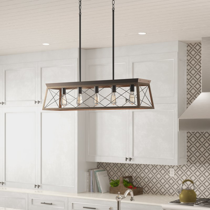 Delon 5-Light Kitchen Island Pendant