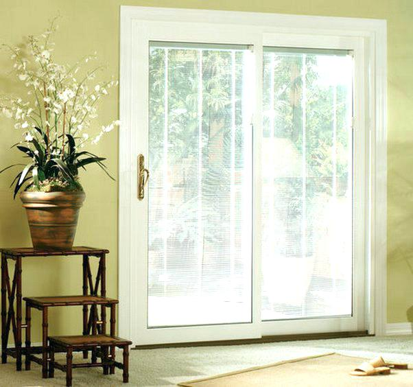 Sliding Patio Doors With Built In Blinds Elegant Internal Glass