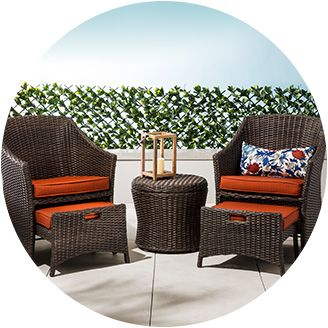 Patio, Space Patio Furniture Small Balcony Furniture Sets: Awesome Small  Outdoor Chairs