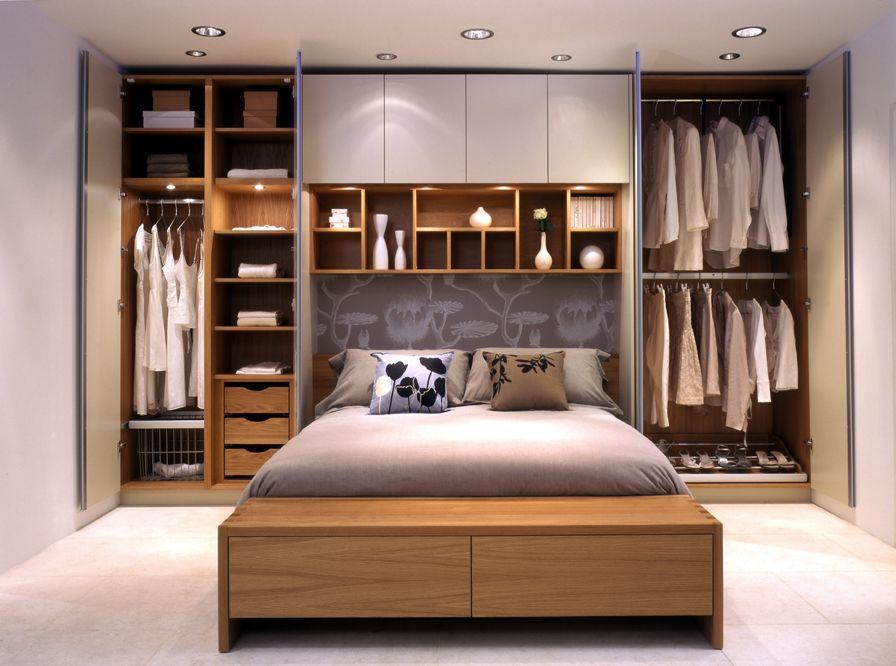 Small bedroom wardrobe design – make it   smart