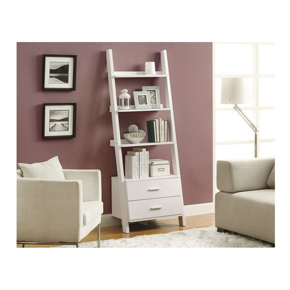 Best 22 Leaning Ladder Bookshelf and Bookcase Collection for your  home/office
