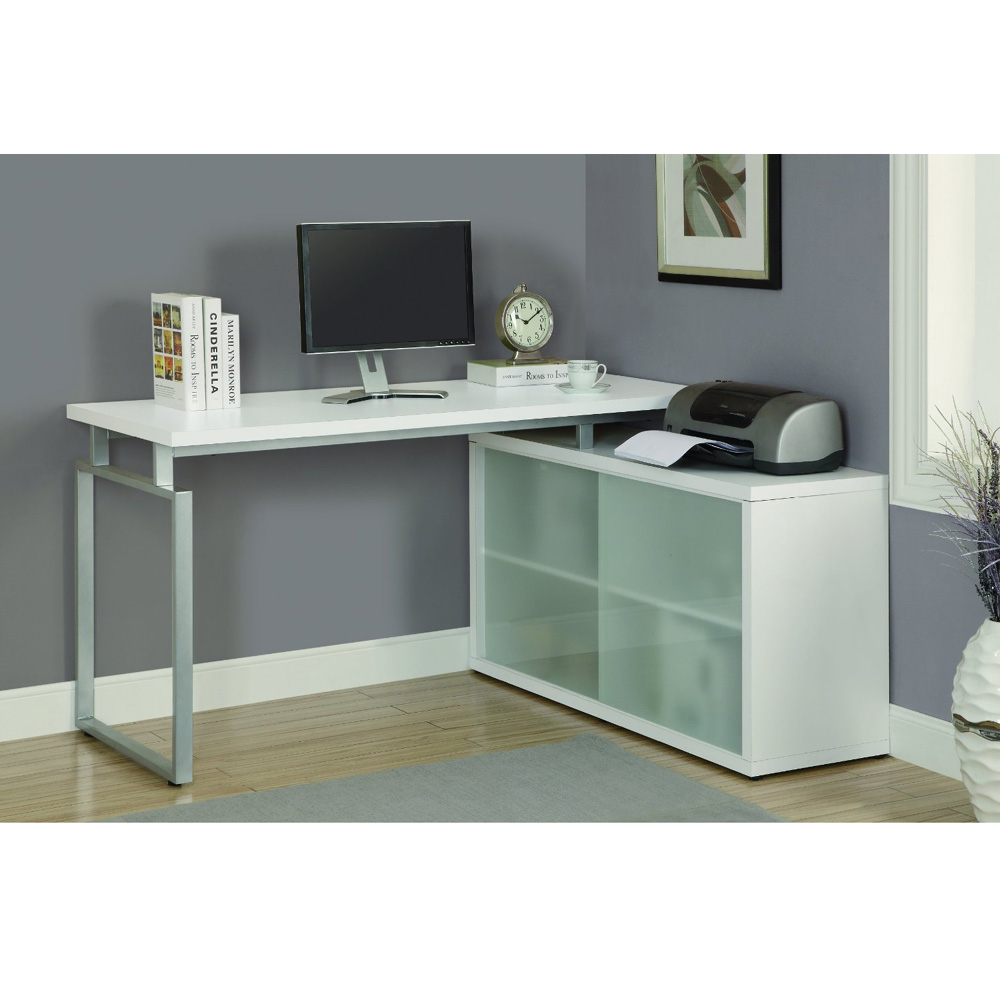 Corner Desk White Design