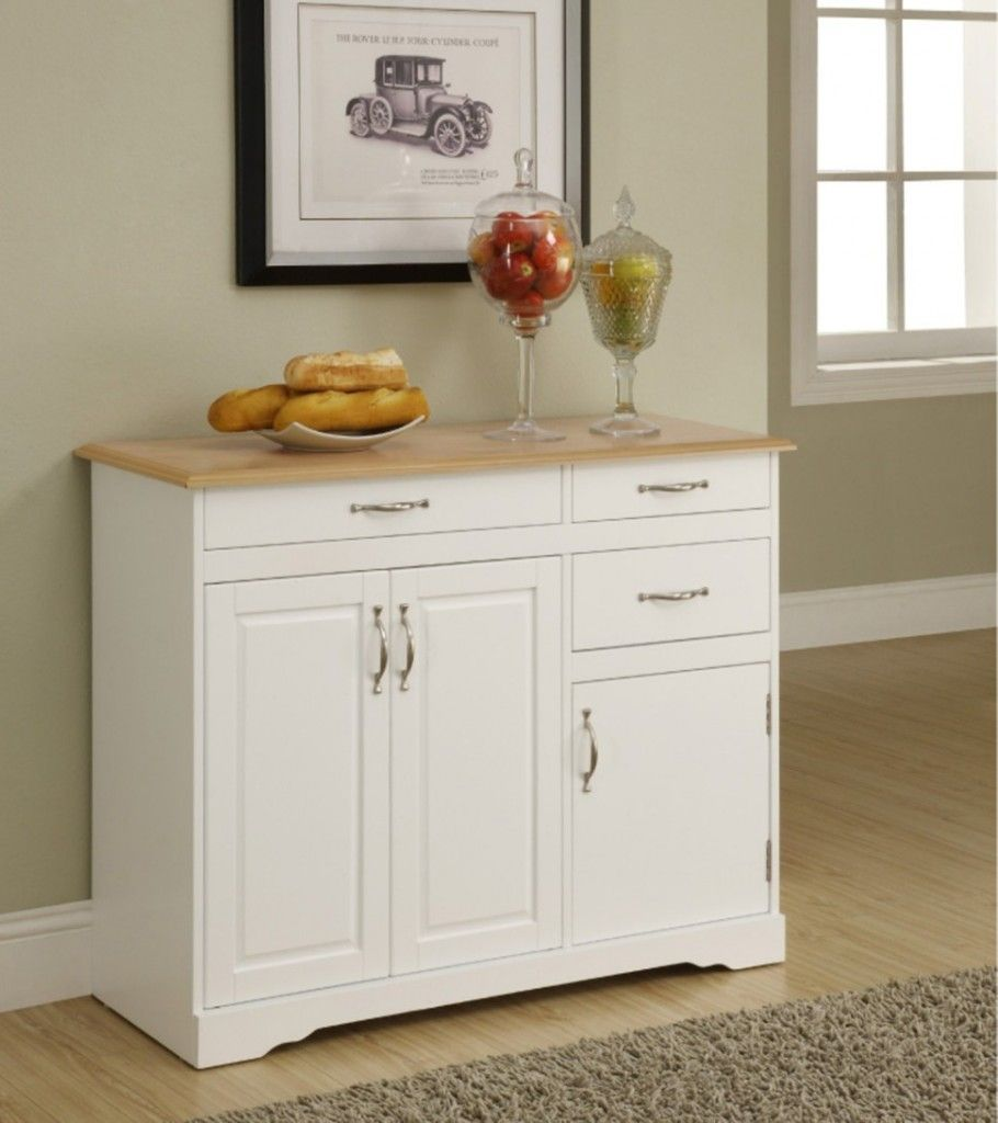 Organize your kitchen ware with small   kitchen buffet table