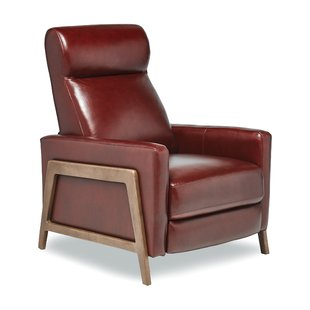Corby Leather Manual Recliner
