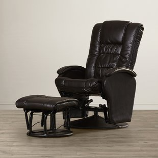 Nadine Glider Recliner with Ottoman