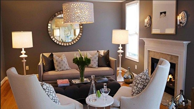 Small Room Design: cheap price decorating ideas for small living