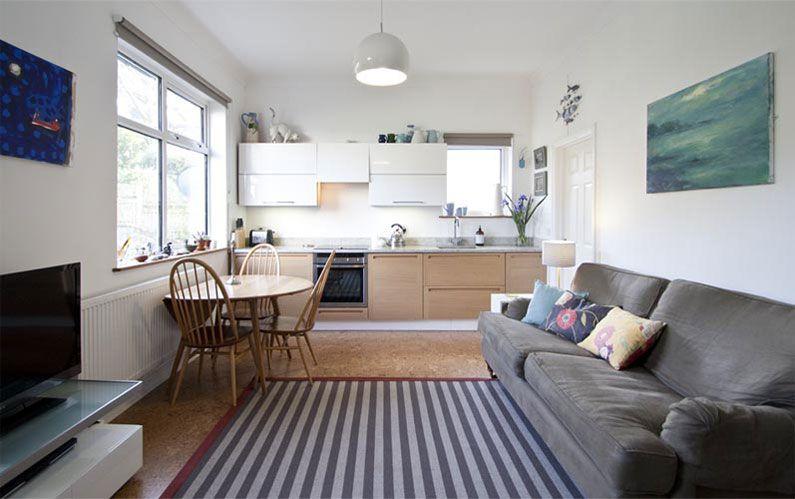 20 Best Small Open Plan Kitchen Living Room Design Ideas | Small