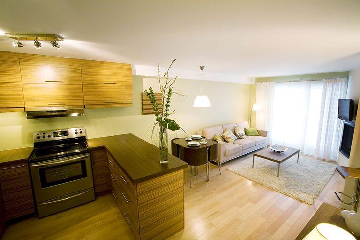 20 Best Small Open Plan Kitchen Living Room Design Ideas | Stan