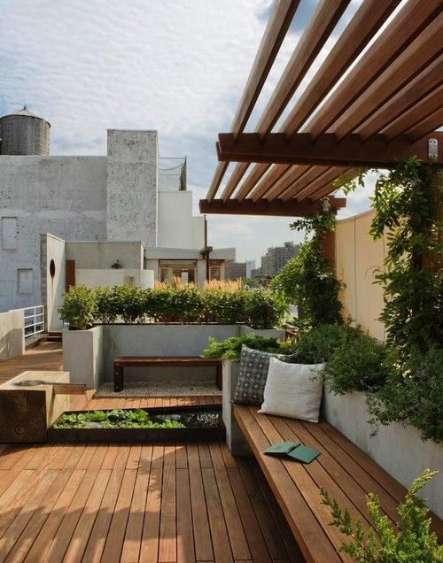 rooftop garden design, rooftop garden ideas, and diy rooftop garden image