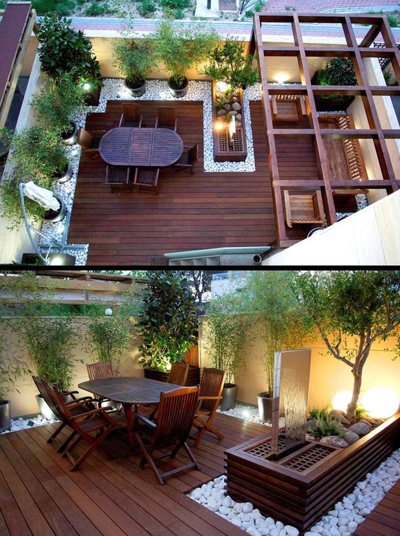 Benefits of having small roof garden   design ideas