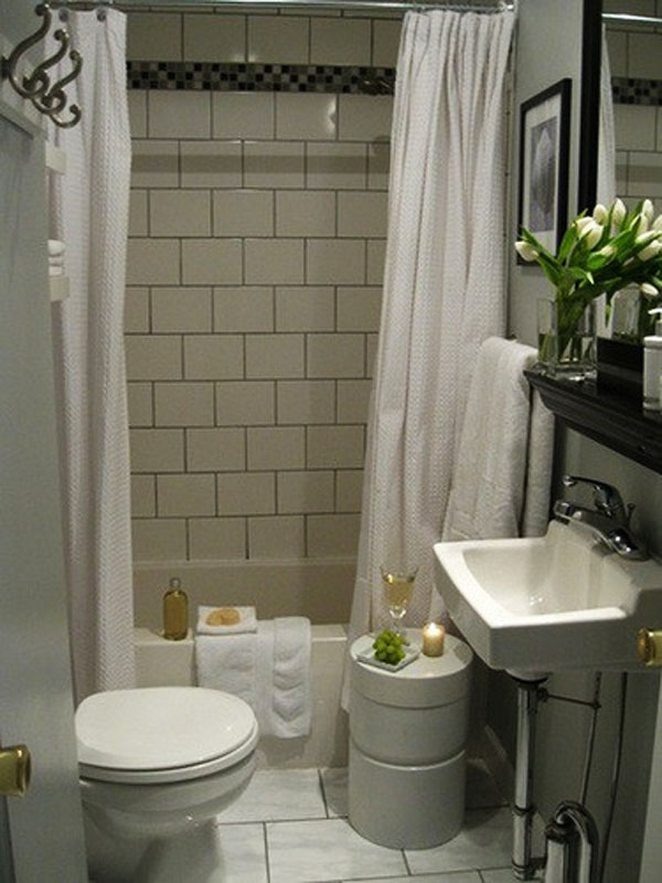 Simple Design For Small Bathroom