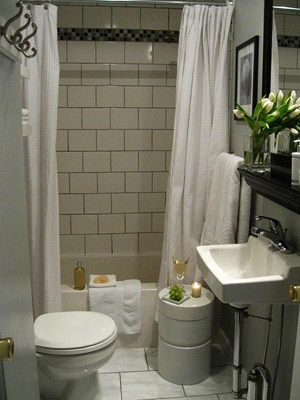 Simple Design For Small Bathroom