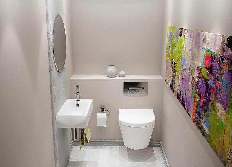 Image of: Cheap Bathroom Ideas Space Saver For Small Bathrooms