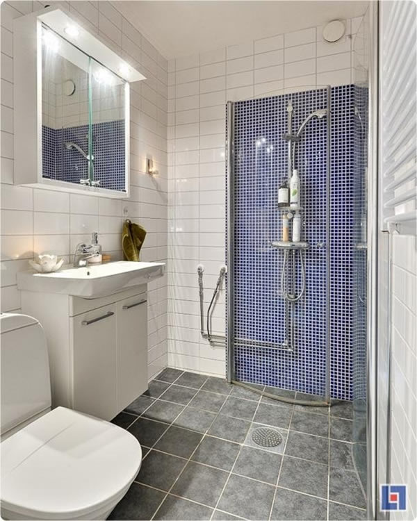 Simple Small Bathroom Design