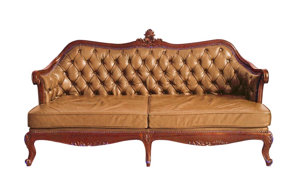 Camelback sofa