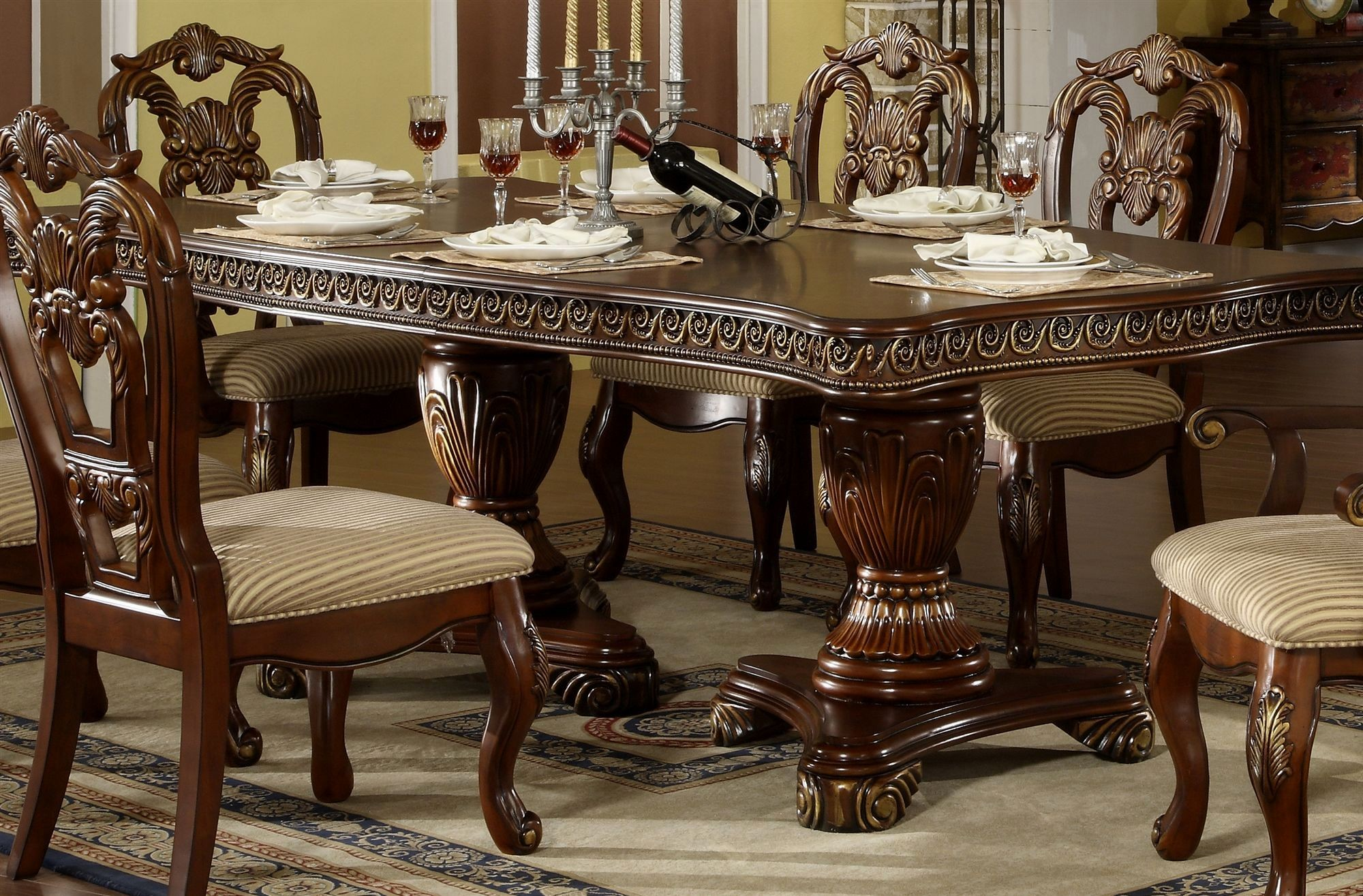 Kincaid Dining Room Set Luxury Emejing Solid Wood Formal Dining Room Sets  Home Design